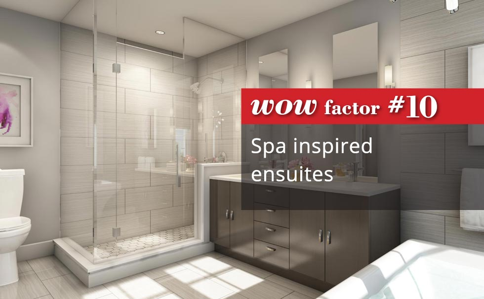 Spa enspired ensuites